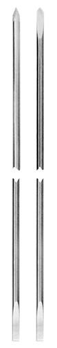 Fili di Kirshner punta 3/4 o lancia con stelo piatto
